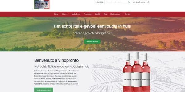 home page vinopronto