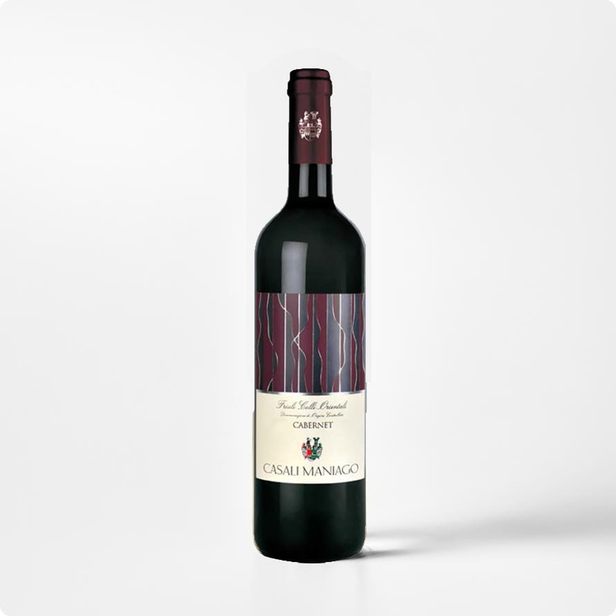 Cabernet COF Casali Maniago DOC – fris rood uit Friuli