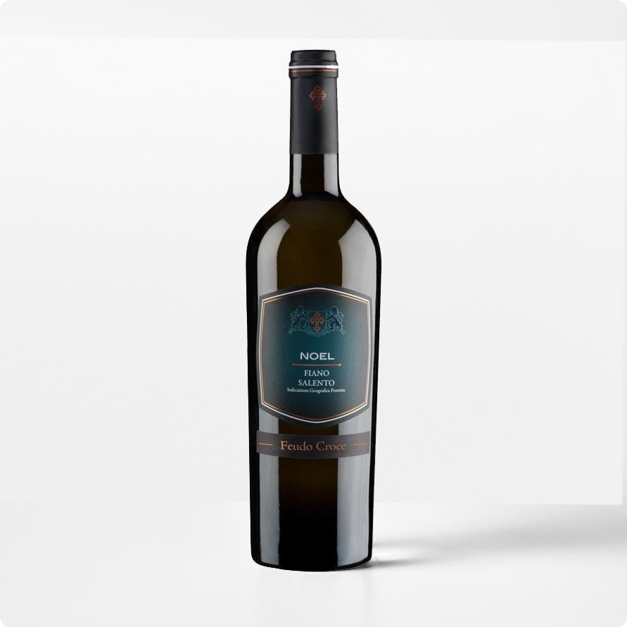 Noel Fiano Salento IGP. Mooi frisse witte wijn.