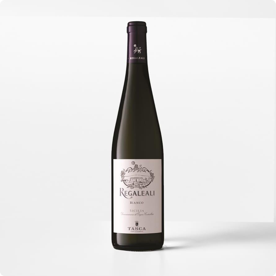 Regaleali Bianco Sicilia DOC- Wit van lokale druiven van Sicilië