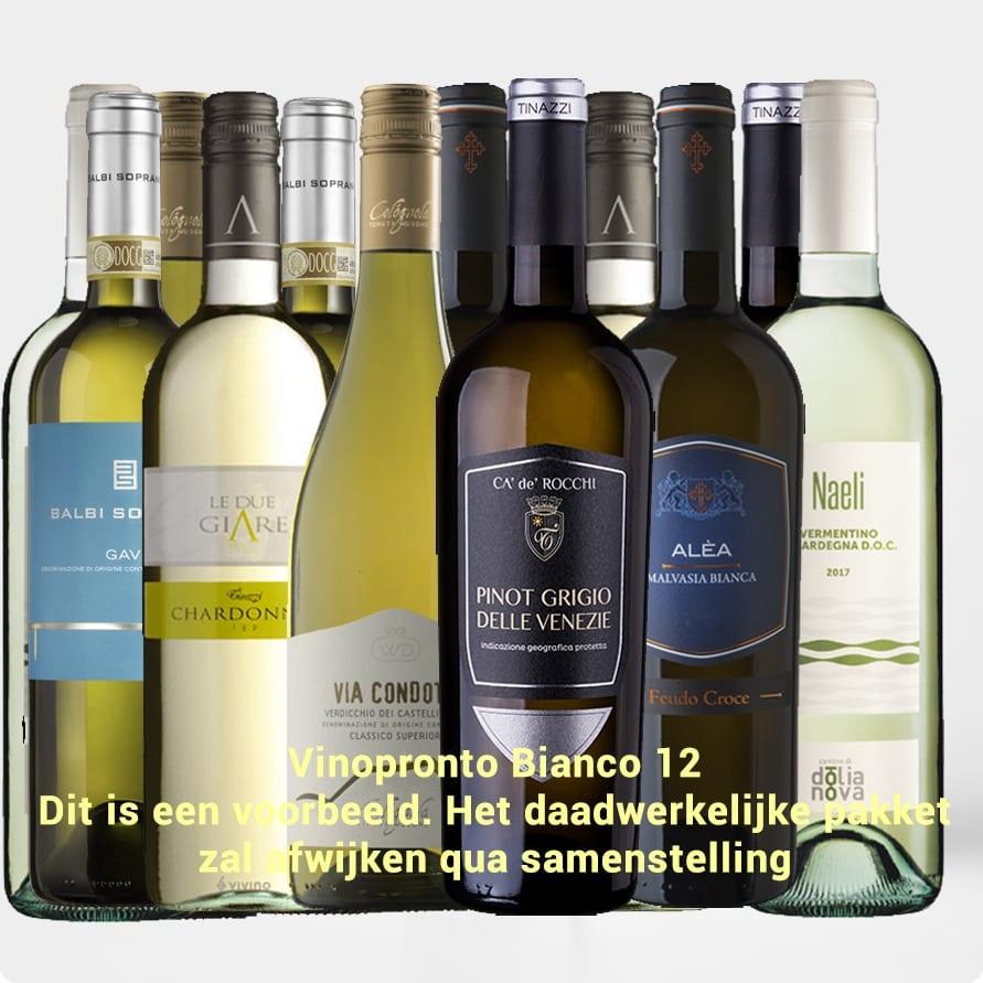 Kennismakingspakket Vinopronto Bianco 12 (12 x wit)