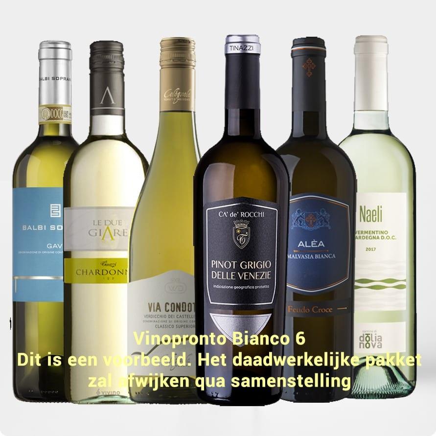 Kennismakingspakket Vinopronto Bianco 6 (6 x wit)